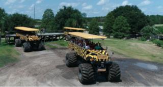 Photos: World's largest monster truck safari