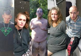 5 arrested for drugs, Nazi propaganda