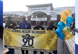 Gibbs High school celebrates 90th anniversary