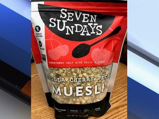 Recall:Seven Sundays Vanilla Cherry Pecan Muesli
