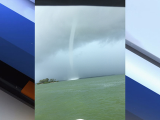 VIDEO: Waterspout spotted in Dunedin