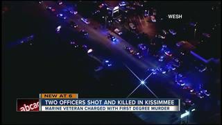 2 FL officers shot & killed, suspect arrested