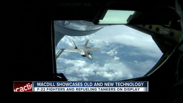 MacDill showcases old and new technology