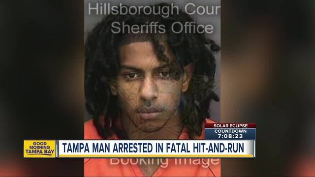 Tampa man charged with DUI Manslaughter in fatal hit-and-run