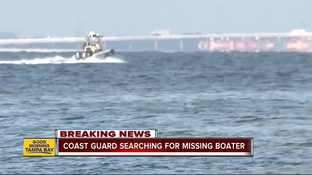 Coast Guard searching for possible missing man after unmanned jet ski found