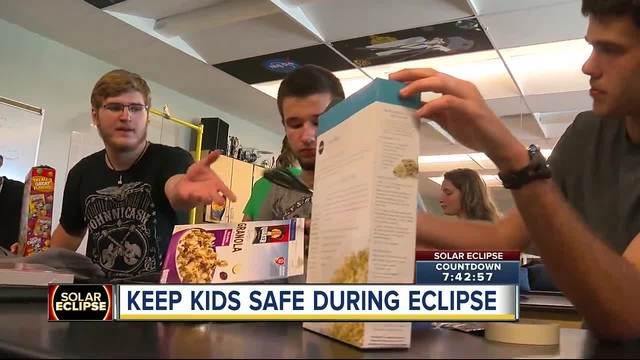 Solar eclipse- How to keep kids safe