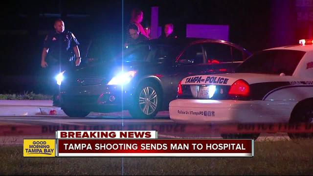 Detectives- Shooting in Tampa sends one to hospital