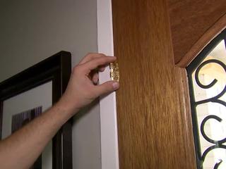 Child-proof your front door with a flip-lock