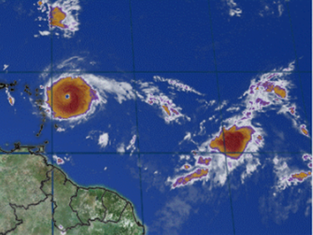 Three Hurricanes March Across Atlantic at Once