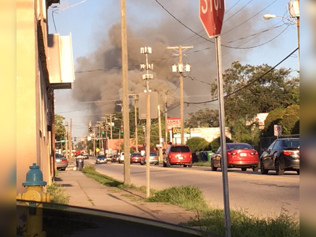 Fire breaks out at elementary school in Tampa