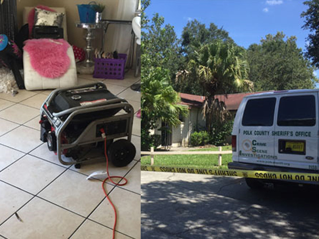 Autopsy confirms Lakeland girl sleeping near generator died of carbon monoxide poisoning