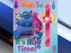 Recall: 'Trolls' slap bracelets sold with book