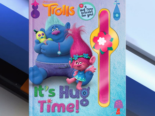 Recall: 'Trolls' slap bracelets sold with book
