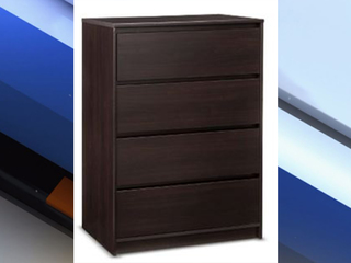 Target recalls 4-drawer dressers due to hazard