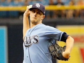 Red Sox get one hit off Odorizzi in loss to Rays
