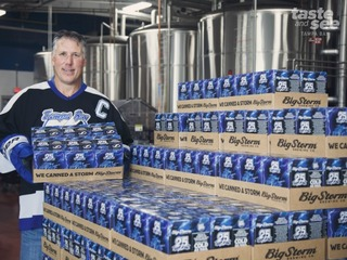 Bolts celebrate 25 years with Big Storm beer