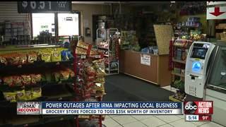Sarasota Community's Food Source in A Dumpster