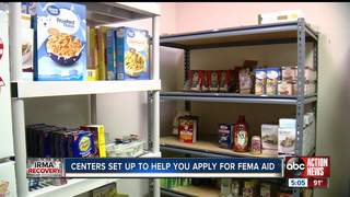 Local food pantries providing temporary relief