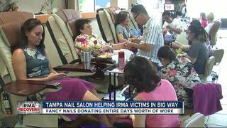 Nail salon to give 100% of proceeds to victims