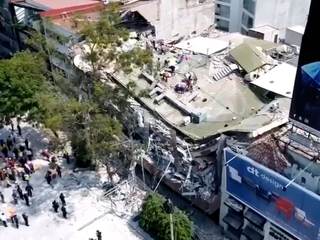 Mexico City earthquake death toll now at 217