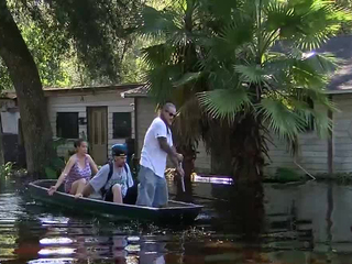 Withlacoochee flood waters not receding yet