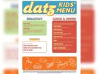 Datz's new kids' menu goes viral among parents