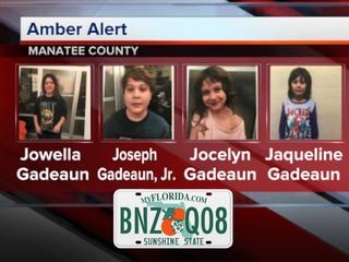 AMBER Alert canceled for 4 Manatee Co. children