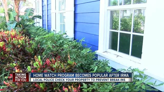 House safety check program keeps properties safe before and after storms