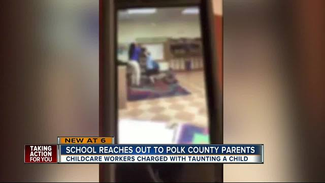 School reaches out to Polk Co- parents