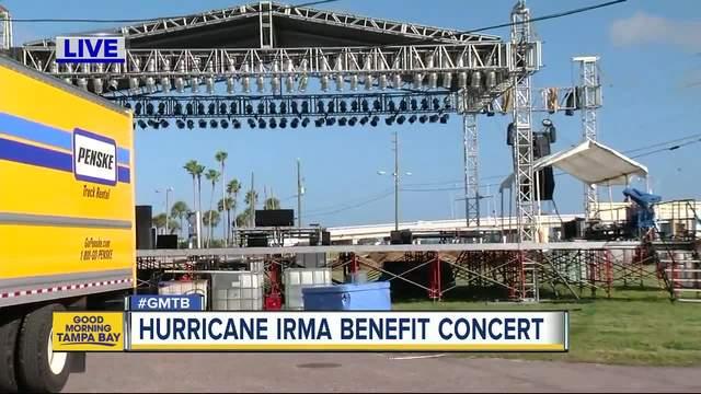 Benefit concert to help raise money for Hurricane Irma victims