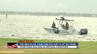 4-year-old child injured in boating crash