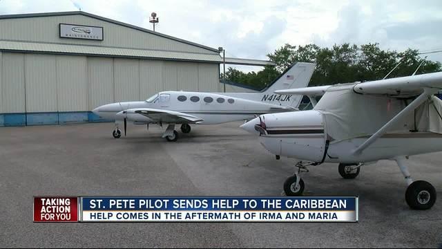 St- Pete pilot sends help to Caribbean