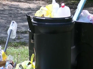 No trash pickup causing big problems