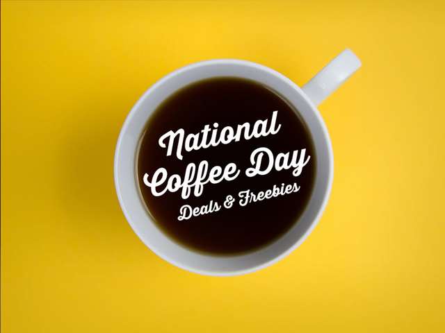 Where can you get a deal on National Coffee Day?