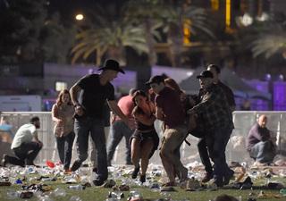 Photos: Active shooter scene on Las Vegas Strip