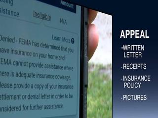 Hurricane victims being denied help from FEMA