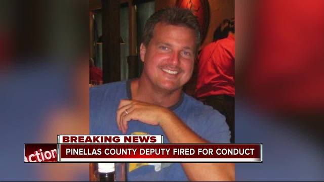 Pinellas deputy fired for inappropriate conduct