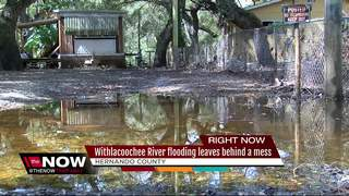Flood victims left with disaster