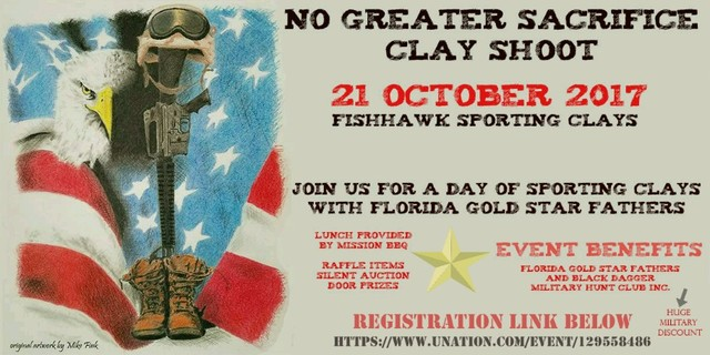 Florida gold star father wants to honor son 39 s name legacy for Fish hawk sporting clays