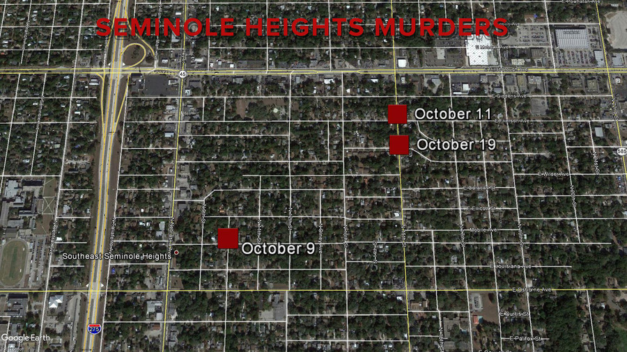 3 killings in 11 days 'terrorizing' Tampa neighborhood, police say