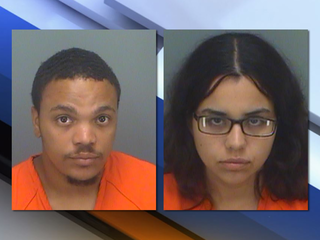 Florida parents of abused newborn arrested