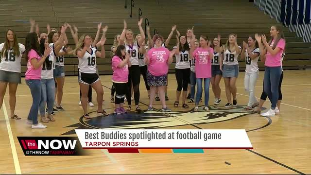 Best Buddies spotlighted at high school football game