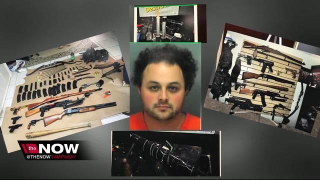 Randall Drake- Dunedin man arrested after explosives- guns- school maps…