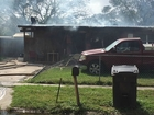 Adult, 2 children injured in Hills Co house fire