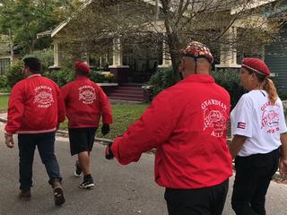Guardian Angels patrol SE Seminole Heights