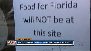 Food assistance confusion for Pasco residents