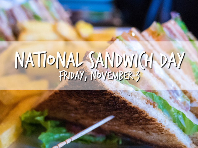 World Sandwich Day to Stop Hunger