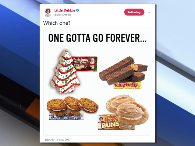 Little Debbie trolls its fans by teasing retirement of beloved snack cakes