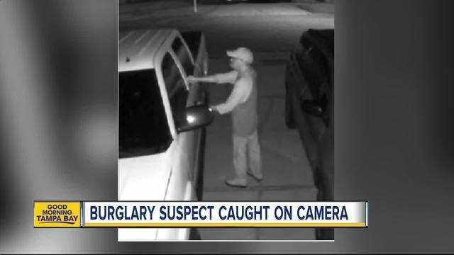Florida man tries to burglarize sheriff's office vehicle with deputies inside