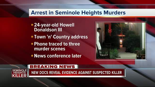 Suspected Seminole Heights Killer Arrested - New documents reveal…